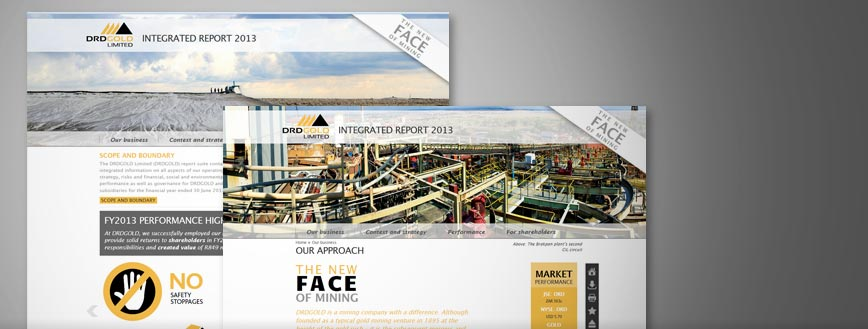 DRDGOLD integrated report 2013