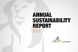 AGA sustainability report 2013